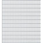 vidaXL 2D Garden Fence Panels 34mx223cm