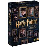 Film Harry Potter 1-8: Slimbox + karta & booklet (8DVD) (DVD 2016)