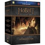 Film Hobbit Trilogy: Extended edition (9Blu-ray) (Blu-Ray 2014)