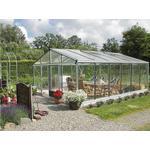 Drivhuse Euro-Serre Tropic Plus 16.7m2s Aluminium Glas