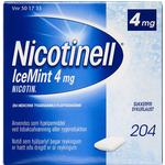 Nicotinell Icemint 4mg 207stk
