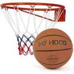 Basketbold Basketbold My Hood Basketball Basket with Ball