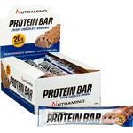 Nutramino Proteinbar Crispy Chokolade Brownie 64g 12 stk