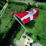 Flagstænger 10 meter Havetilbehør Danomast Glasfiberflagstang 10m