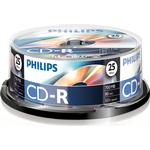Optiske disk medier Philips CD-R 700MB 52x Spindle 25-Pack