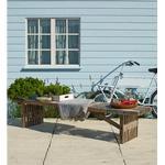 Havemøbler Plus Rustik 220x49x45cm Havebænk