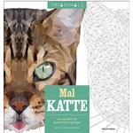 Mal katte: 60 mal-efter-tal geometriske tegninger, Hæfte