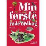 Min første røde ordbog - nudansk: Dansk, Hardback