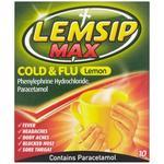 Ondt i halsen Lemsip Max Cold & Flu Lemon 650mg 10stk