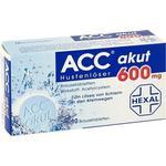 Forkølelse - Brusetablet ACC Akut 600mg 10stk