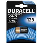 Kamerabatterier Duracell CR123A Ultra Lithium Photo