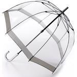 Gennemsigtig paraply Fulton Birdcage 1 Sølv