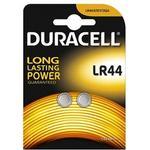 Knapcellebatterier Duracell LR44 (2pcs)
