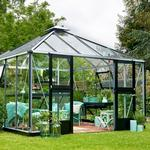 Juliana grand oase Drivhuse Juliana Oasis 13.5m² Aluminium Hærdet glas