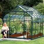 Fritstående drivhus Vitavia Diana 9900 9.9m² Aluminium Glas