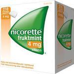 Nicorette Fruitmint 4mg 210stk