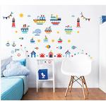 Både Børneværelse Walltastic Nautical Wall Stickers 44845