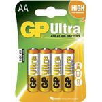 Batterier GP Batteries 15AU AA LR6 Ultra 4-pack
