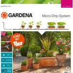 Kunstvanding Gardena Micro Drip System Starter Set Plant Pots M