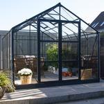Drivhuse Elmholm Exclusive 13.29m² Aluminium Hærdet glas