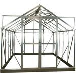 Drivhuse Elmholm Standard 11.66m² Aluminium Hærdet glas