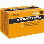 Engangsbatterier Duracell AA 1.5V Industrial (10 pcs)