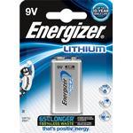 Engangsbatterier Energizer 9V Ultimate Lithium