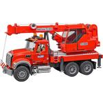 Bruder Mack Granite Kran LKW mit Light & Sound Module 02826