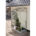 Vitavia IDA Vægdrivhus Small 0.9m² Aluminium Glas