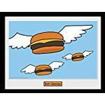 Maleri og billede GB Eye Bobs Burgers Flying Burgers 30x40cm Maleri & billede