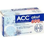 Forkølelse - Brusetablet ACC Akut 600mg 20stk