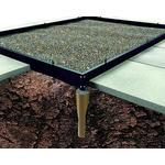 Halls Universal/Magnum 128 Foundation 9.9m² Aluminium, Rustfrit stål