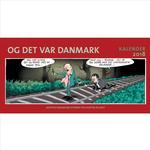 Ingemann kalender Bøger Og det var Danmark - kalender 2018, Hardback