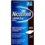 Nicotinell Lakrids 2mg 24stk