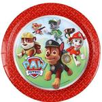 Amscan Paw Patrol Paper Plates Disposable Dinnerware