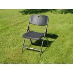 Armløs stol Havemøbler Dancover Klapstol 48x57x83cm 4 stk. Armløs stol