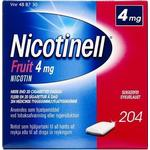 Nicotinell Fruit 4mg 204stk