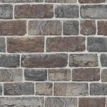 Tapeter Rasch Brown & Gray Brick (217339)