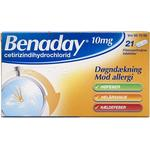 Benaday 10mg 21stk