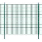 vidaXL 2D Garden Fence Panels & Posts 16mx183cm