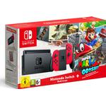 Nintendo Switch - Grey/Red - 2017 - Super Mario Odyssey
