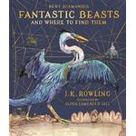 Fantastic beasts and where to find them Bøger Fantastic Beasts and Where to Find Them: Illustrated Edition, Hardback