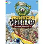 Monster Mash-up - Aliens Meet Their Match Coloring Book, Paperback