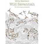 Millie Marotta's Wild Savannah Postcard Book