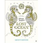 Lost Ocean Artist's Edition: An Inky Adventure and Coloring Book for Adults: 24 Drawings to Color and Frame, Hæfte
