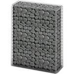 Hegn vidaXL Gabion Basket Wall with Lids 100x80x30cm