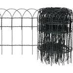 Trådhegn vidaXL Garden Lawn Edging Border Fence 25mx40cm