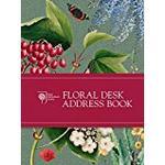 RHS Floral Desk Address Book