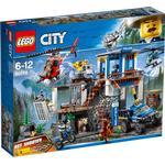 Lego city politi Legetøj Lego City Bjergpolitiets Hovedkvarter 60174