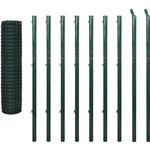 vidaXL Euro Fence Set 10mx196cm 142397